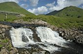 Waterfall On River Cluanie
