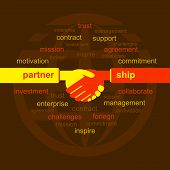 business relation concept vector
