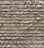 seamless horizontal line cement plaster wall texture