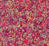 seamless crushed pressed berries cake
