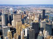 Aerial View Of Nyc.
