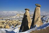 Fairly Chimney In Cappadocia