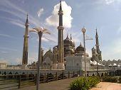 masjid crystal terengganu malaysia