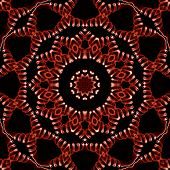 Pattern Of Closeup Red Smoke