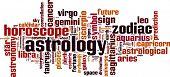Astrology Word Cloud