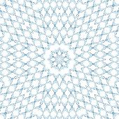 Pattern Of Closeup Blue Smoke