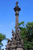 monument In Prague, Czech Republic