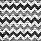 image of chevron  - Closeup burlap jute canvas vintage chevron zigzag textured background - JPG