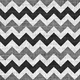 picture of chevron  - Closeup burlap jute canvas vintage chevron zigzag textured background - JPG