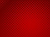 Red Dotted Graphics Layout