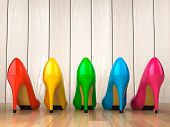 image of stiletto heels  - Shopping concept - JPG
