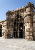 foto of masjid  - Jama masjid mosque landmark in Ahmedabad, India