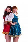 Two German/Bavarian women
