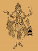 picture of kali  - many - JPG