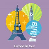 foto of world-famous  - European traveling tour - JPG