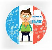 picture of french culture  - Round sign  - JPG