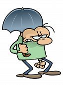 Umbrella dude