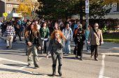 Zombie walk in Ottawa