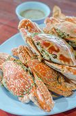 Постер, плакат: Steamed Flower Crab