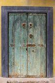 Grunge Painted Door