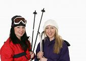 Women With Skis