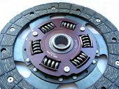 Clutch Disc Close-Up