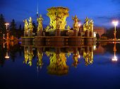 Fountain Friendship of nations - Moscow