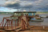 Hithe On The River Volga