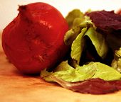 Beet And Organic Lettuce