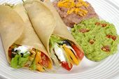 foto of mexican food  - traditional authentic mexican soft - JPG