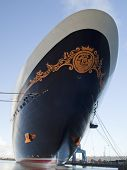 Disney Dream Cruise Ship - front