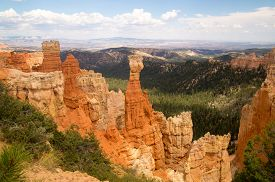 picture of hoodoo  - Hoodoos of Bryce Canyon National Park Utah USA - JPG