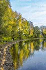 foto of novosibirsk  - Fishing in warm autumn day - JPG