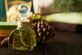 picture of pine-needle  - Essential oil of pine - JPG
