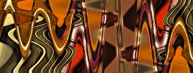 pic of distort  - Photography art abstract distort zigzag design for background - JPG