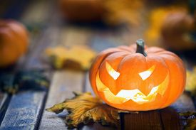 pic of jack-o-laterns-jack-o-latern  - Halloween jack o - JPG
