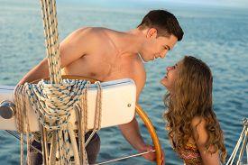 image of yacht  - Love story - JPG