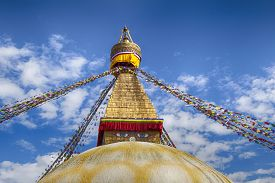 picture of tibetan  - The largest in Nepal - JPG
