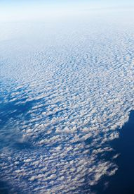 picture of ozone layer  - Above the clouds - JPG