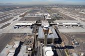 Sky Harbor Airport and Control Tower