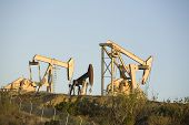 foto of nod  - Image of a pumpjack type oil pump - JPG
