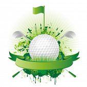 golf design elementos do vetor