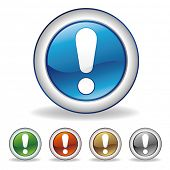 vector attention icon