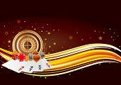 casino design elements,abstract background