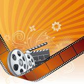 film strip,movie theme element