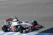 Lewis Hamilton In Motion