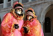 Colorful Masks In San Marco