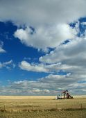Oil Well,Prairies,