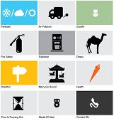 stock photo of dowry  - Set of Pictograms - JPG