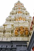 stock photo of vinayagar  - Sri Senpaga Vinayagar Hindu Temple Gopuram Tower by Ceylon Tamil in Singapore - JPG